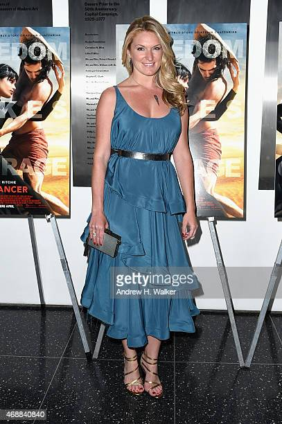 Producer Sarah Arison attends the special screening of Relativity Studio's Desert Dancer at Museum of Modern Art on April 7 2015 in New York City