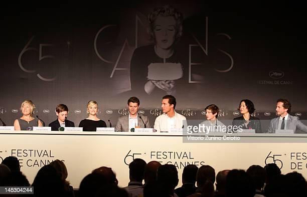 Producer Sarah Green, actors Jacob Lofland, Reese Witherspoon, director Jeff Nichols, actors Matthew McConaughey, Tye Sheridan, producers Lisa Maria...
