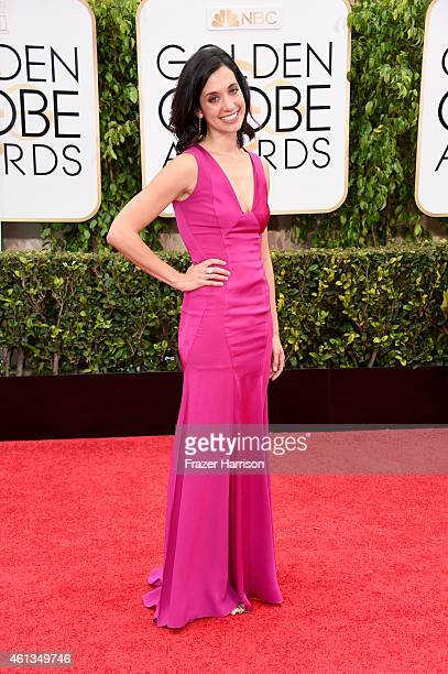 Producer Sarah Treem attends the 72nd Annual Golden Globe Awards at The Beverly Hilton Hotel on January 11 2015 in Beverly Hills California