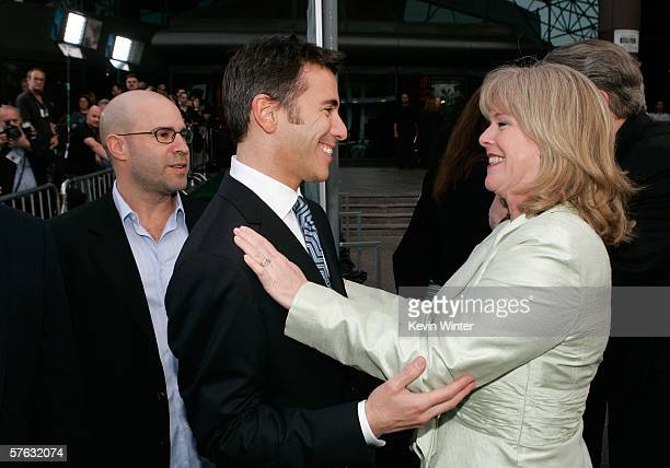 Producer Scott Burns Participant Productions President Ricky Strauss and Tipper Gore arrive at the Los Angeles Premiere Of An Inconvenient Truth held...