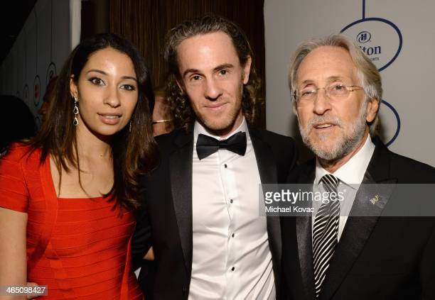 Producer Scott Jacoby and Recording Academy President/CEO Neil Portnow attend the 56th annual GRAMMY Awards PreGRAMMY Gala and Salute to Industry...