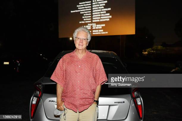 """Producer Scott Kroopf attend a surprise screening of """"Bill & Ted Face The Music"""" at Mission Tiki Drive-in Theater on August 27, 2020 in Montclair,..."""