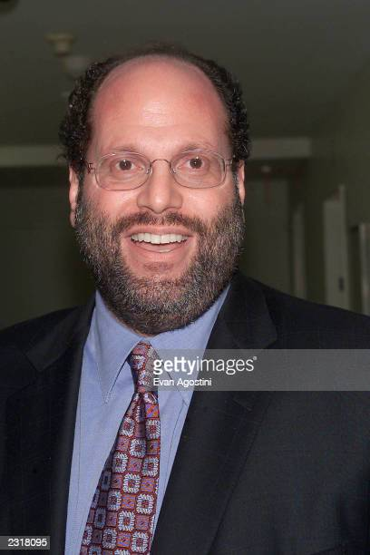 Producer Scott Rudin arriving at the world film premiere of Miramax's 'Iris' at the Paris Theatre in New York City 12/2/2001 Photo Evan...