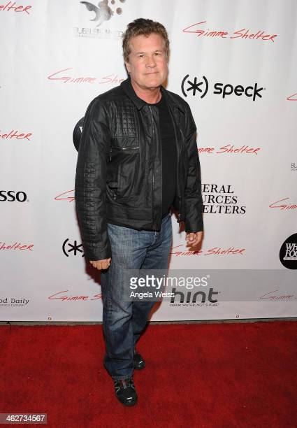 Producer Scott Steindorff arrives at the screening of Roadside Attractions Day 28 Films Gimme Shelter at the Egyptian Theatre on January 14 2014 in...