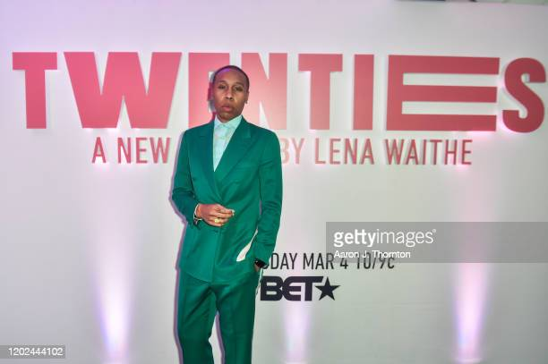 "Producer / Screenwriter Lena Waithe attends the ""BET Twenties"" produced by Lena Waithe Screening during the Sundance Film Festival on January 27,..."