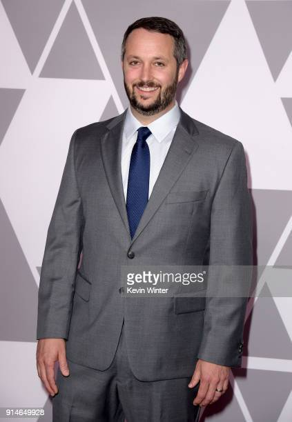 Producer Sean McKittrick attends the 90th Annual Academy Awards Nominee Luncheon at The Beverly Hilton Hotel on February 5 2018 in Beverly Hills...