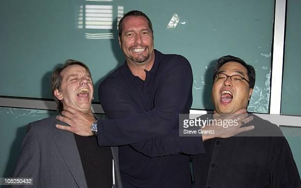 Producer Sean S Cunningham Ken Kirzinger and director Ronny Yu