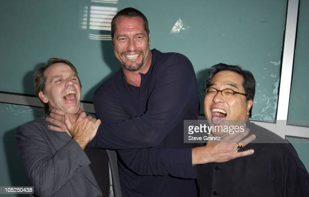 Producer Sean S Cunningham Ken Kirzinger and director Ronny Yu