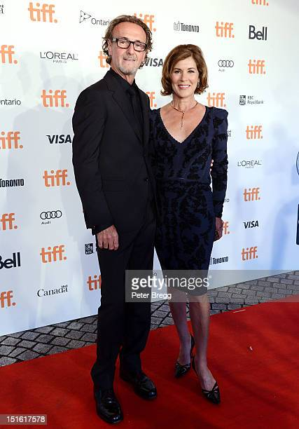 Producer Seaton McLean and actress Sonja Smits attend The Board Gala The Night That Never Ends during the 2012 Toronto International Film Festival at...