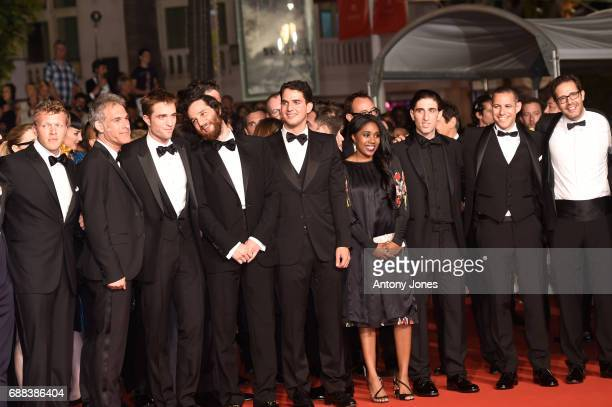 Producer Sebastian BearMcClard Guest actor Robert Pattinson writer and codirector Joshua Safdie codirector Ben Safdie actress Taliah Webster producer...
