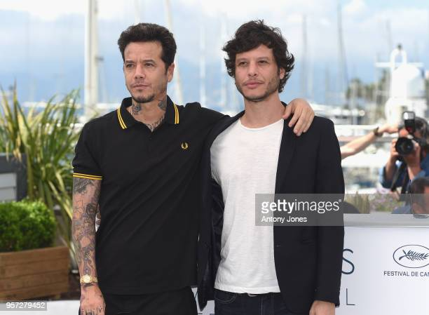 Producer Sebastian Ortega and director Luis Ortega attend the photocall for 'El Angel' during the 71st annual Cannes Film Festival at Palais des...