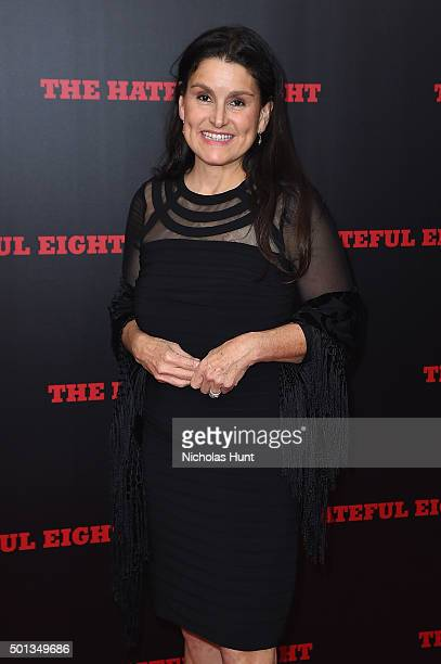 Producer Shannon McIntosh attends the New York premiere of 'The Hateful Eight' on December 14 2015 in New York City