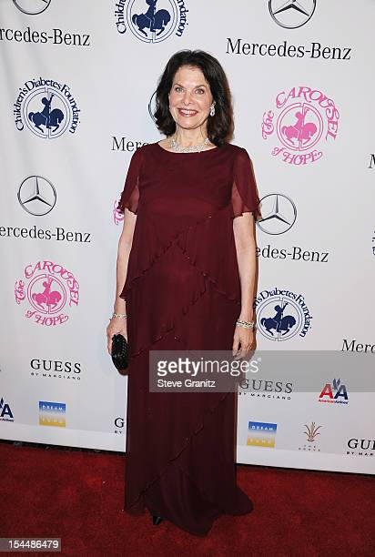Producer Sherry Lansing arrives at the 26th Anniversary Carousel Of Hope Ball presented by MercedesBenz at The Beverly Hilton Hotel on October 20...