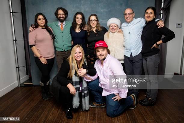 Producer Shivani Rawat director Wally Wolodarsky actress Jenny Slate producer Monica Levinson director Maya Forbes actor Jack Black actress Jacki...