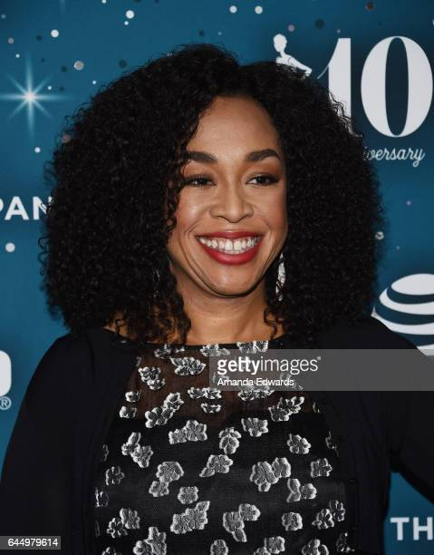 Producer Shonda Rhimes arrives at the Essence 10th Annual Black Women in Hollywood Awards Gala at the Beverly Wilshire Four Seasons Hotel on February...