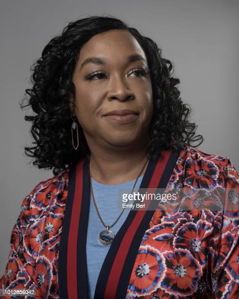 Producer Shonda Rhimes is photographed for New York Times on June 28 2018 in Los Angeles California