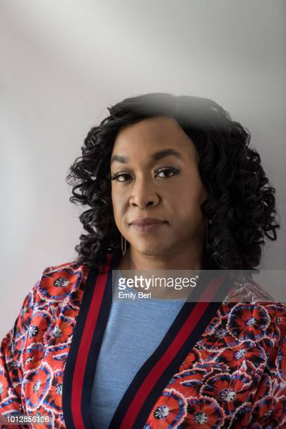 Producer Shonda Rhimes is photographed for New York Times on June 28, 2018 in Los Angeles, California.