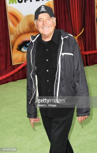 Producer Sid Kroft arrives for 'The Muppet' Los Angeles Premiere held at the El Capitan Theatre on November 12 2011 in Hollywood California