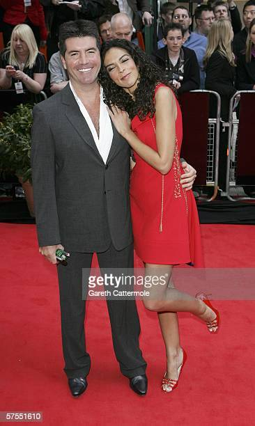 Producer Simon Cowell and model Terri Seymour arrive at the Pioneer British Academy Television Awards 2006 at the Grosvenor House Hotel on May 7,...
