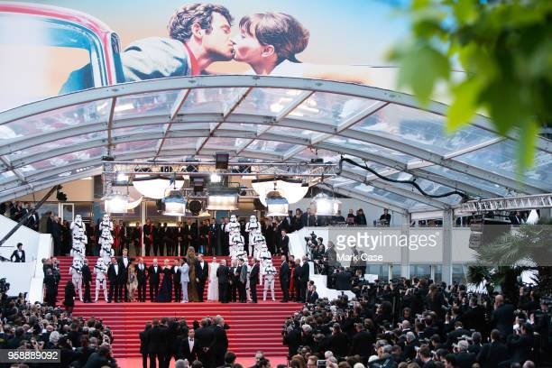 Producer Simon Emanuel actor Joonas Suotamo actress Thandie Newton actor Woody Harrelson director Ron Howard actress Emilia Clarke actor Alden...