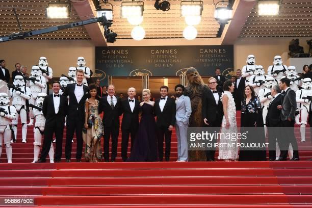 US producer Simon Emanuel Finnish actor Joonas Suotamo British actress Thandie Newton US actor Woody Harrelson US director Ron Howard British actress...