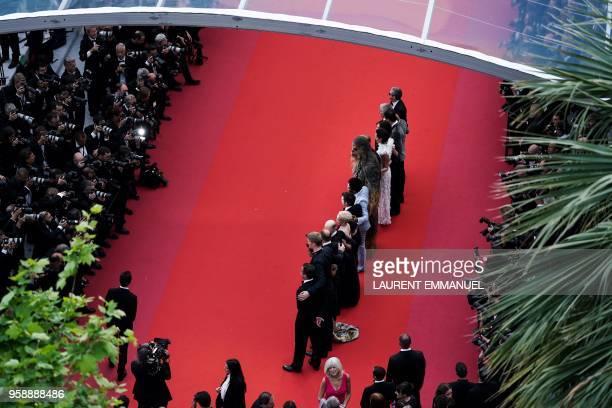 US producer Simon Emanuel Finnish actor Joonas Suotamo US actor Woody Harrelson US director Ron Howard British actress Emilia Clarke US actor Alden...