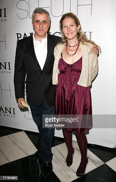 Producer Simon Halfon and wife Annette Halfon attend Sony Pictures Classics' Premiere Of Sleuth at the Paris Theatre on October 2 2007 in New York...