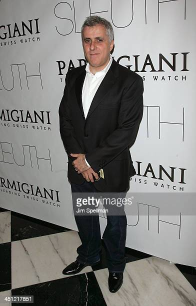 Producer Simon Halfon arrives at Sleuth premiere at the Paris Theater on October 2 2007 in New York City