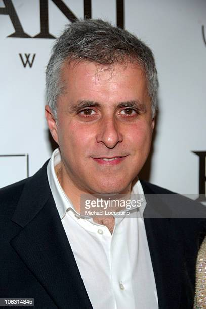 Producer Simon Halfon arrives to the New York premiere of Sleuth at the Paris Theater on October 2 2007 in New York City