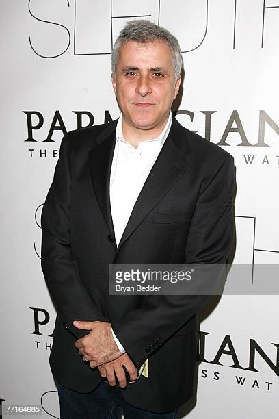 Producer Simon Halfon attends Sony Pictures Classics' Premiere Of Sleuth at the Paris Theatre on October 2 2007 in New York City