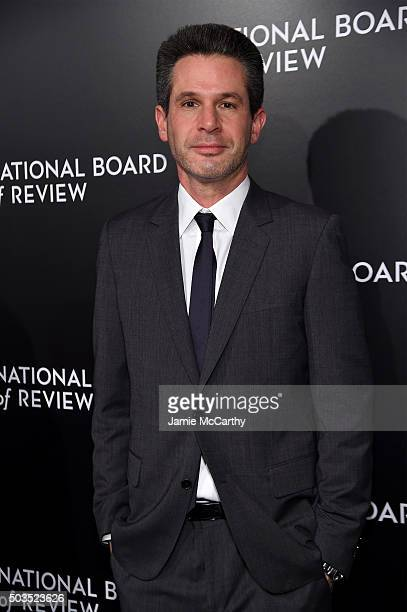 Producer Simon Kinberg attends 2015 National Board of Review Gala at Cipriani 42nd Street on January 5 2016 in New York City