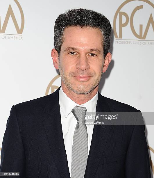 Producer Simon Kinberg attends the 28th annual Producers Guild Awards at The Beverly Hilton Hotel on January 28 2017 in Beverly Hills California