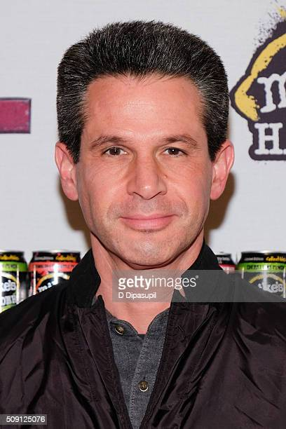 Producer Simon Kinberg attends the 'Deadpool' fan event at AMC Empire Theatre on February 8 2016 in New York City