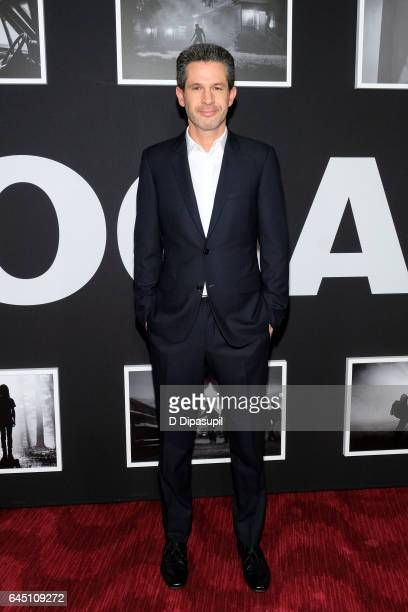 Producer Simon Kinberg attends the 'Logan' New York screening at Rose Theater Jazz at Lincoln Center on February 24 2017 in New York City