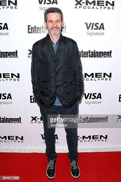 Producer Simon Kinberg attends the special screening of 'XMEN Apocalypse' at Entertainment Weekly on May 24 2016 in New York City