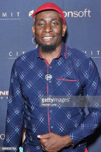Producer Sir Jones attends City Summit Wealth Mastery And Mindset Edition afterparty at Allure Banquet Catering on July 11 2018 in Van Nuys California