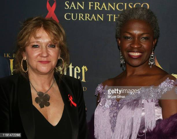 Producer Sonia Friedman and Yanna McIntosh pose at the opening night after party for Harry Potter and The Cursed Child Parts One 2 at August Hall on...