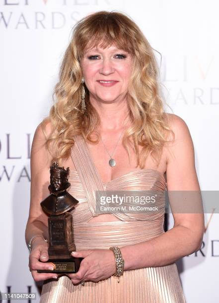Producer Sonia Friedman winner of Best Revival for 'Summer And Smoke during The Olivier Awards with Mastercard at the Royal Albert Hall on April 07...