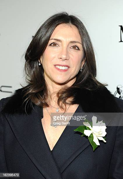 Producer Stacey Sher attends the 6th Annual Women In Film PreOscar Party hosted by Perrier Jouet MAC Cosmetics and MaxMara at Fig Olive on February...