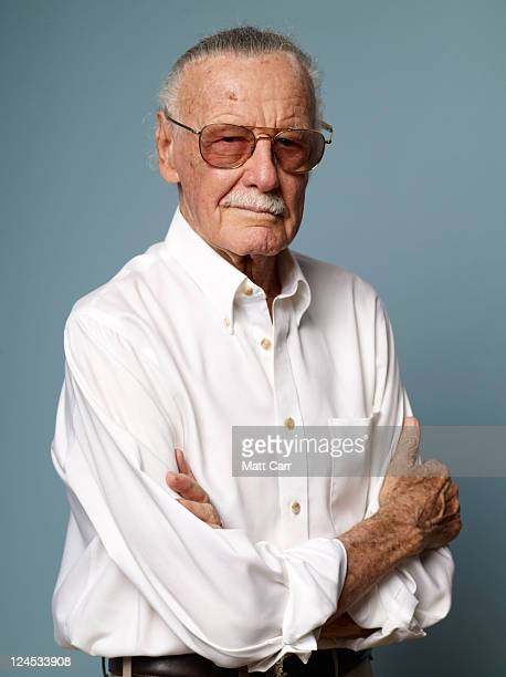 Producer Stan Lee of ComicCon Episode IV A Fan's Hope poses for a portrait during the 2011 Toronto Film Festival at the Guess Portrait Studio on...