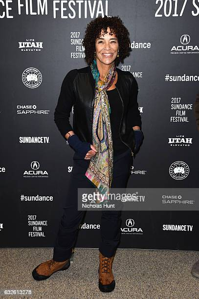 Producer Stephanie Allain attends the Burning Sands Premiere at Eccles Center Theatre on January 24 2017 in Park City Utah