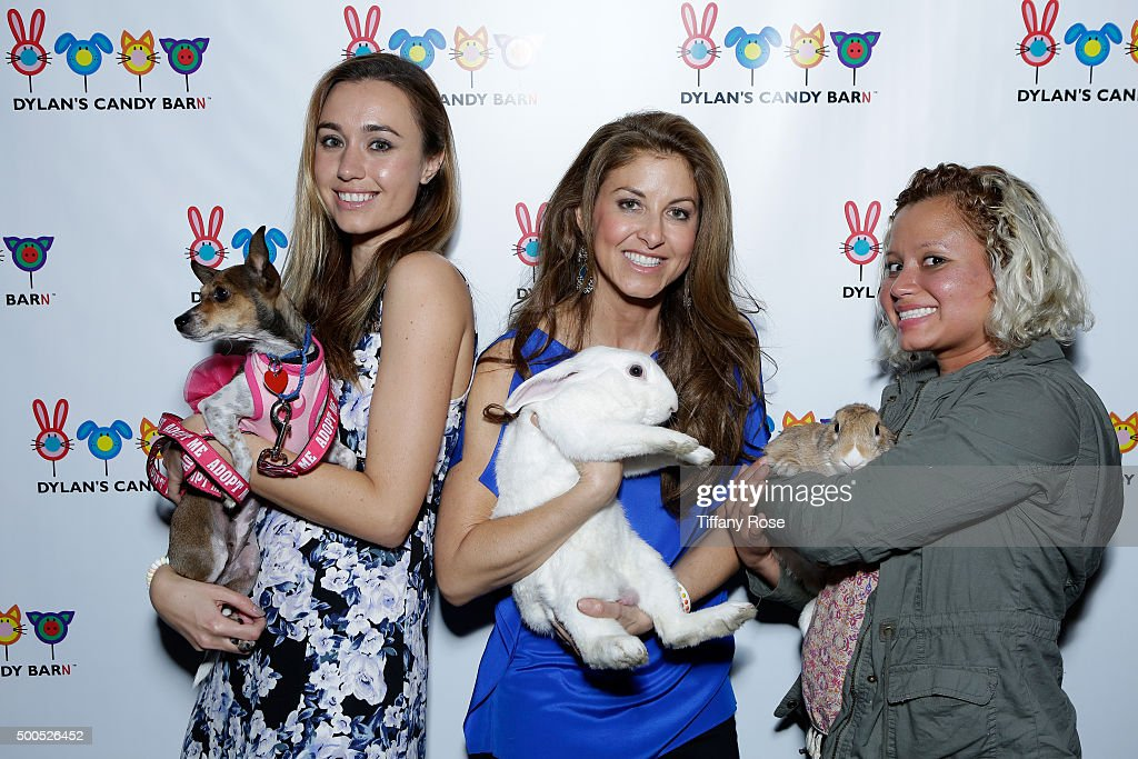 Producer Stephanie Kay Meyer (L) and Dylan Lauren, founder and CEO of Dylan's Candy Bar (C) attend the Dylan's Candy BarN launch event at Dylan's Candy Bar on December 8, 2015 in Los Angeles, California.