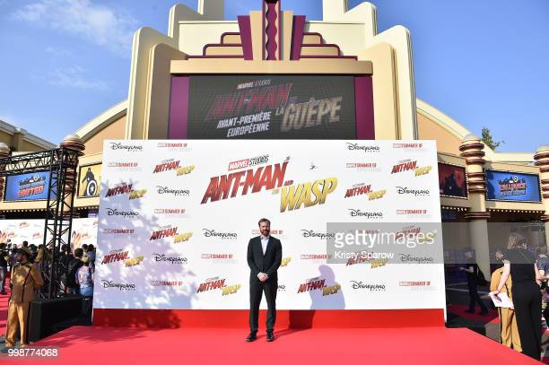 Producer Stephen Broussard attends the European Premiere of Marvel Studios 'AntMan And The Wasp' at Disneyland Paris on July 14 2018 in Paris France