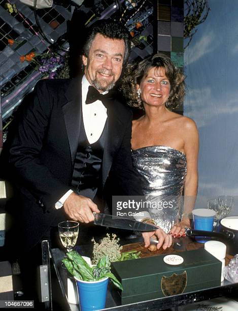 Producer Stephen Cannell and wife Marcia Cannell attending March Of Dimes Gourmet Gala Benefit on March 4 1986 at the Sheraton Premiere Hotel in Los...