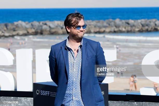 Producer Stephen Deuters attends 'Crock of Gold A Few Rounds With Shane Macgowan' photocall during the 68th San Sebastian International Film Festival...