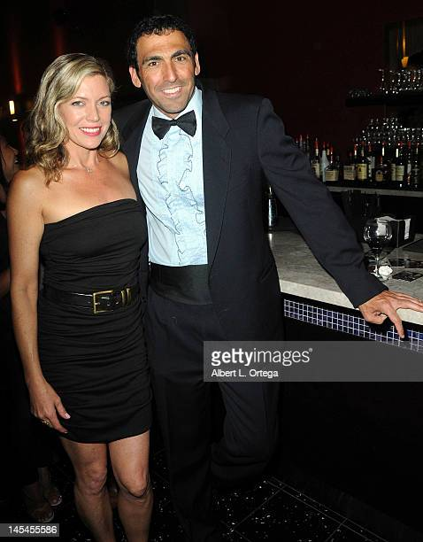 Producer Steve Kriozere and actress Leilani Sarelle at the AfterParty For Cinemax's Femme Fatales 2nd Season held at ArcLight Hollywood on May 21...