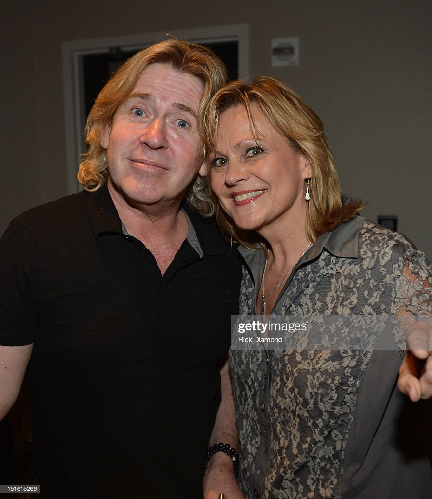 Producer Steve Lillywhite and Singer/Songwriter/Vocal Coach Jan Smith attend GRAMMY GPS - A Road Map For Today's Music Pro at W Atlanta Buckhead on September 8, 2012 in Atlanta, Georgia.