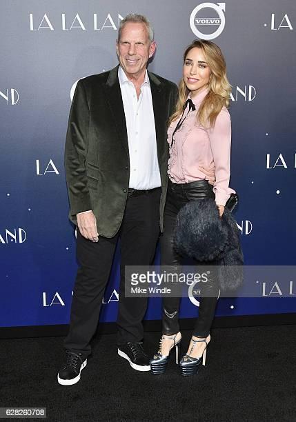Producer Steve Tisch and Katia Francesconi attend the premiere of Lionsgate's La La Land at Mann Village Theatre on December 6 2016 in Westwood...