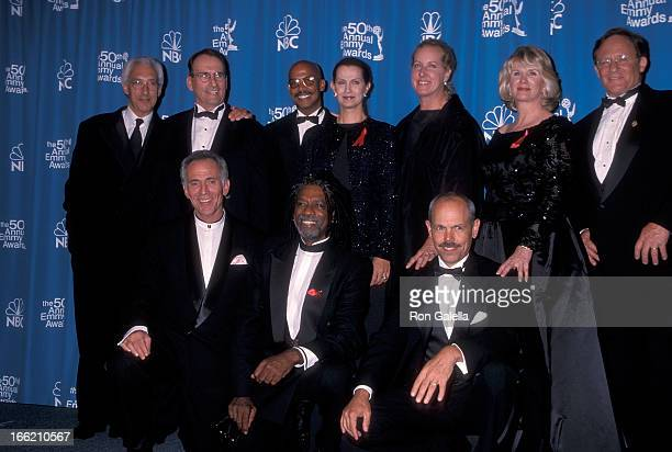 Producer Steven Bochco actor James Sikking actor Michael Warren actress Veronica Hamel actress Betty Thomas actress Barbara Bosson actor Charles Haid...