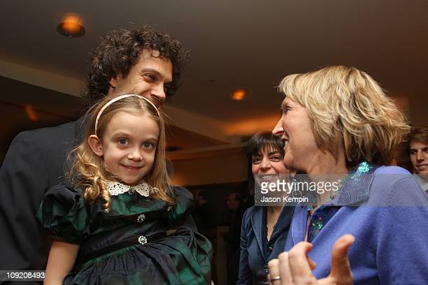 Producer Steven Cantor Clara Cantor HBO Documentaries Supervising Producer Nancy Abraham and President and cofounder of PETA Ingrid Newkirk attend...